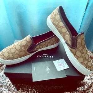 Official Coach slip on sneakers